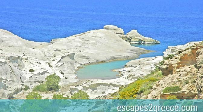 Visiting breathtaking Milos
