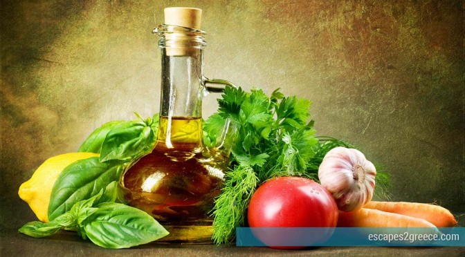The Greeks and the olive oil
