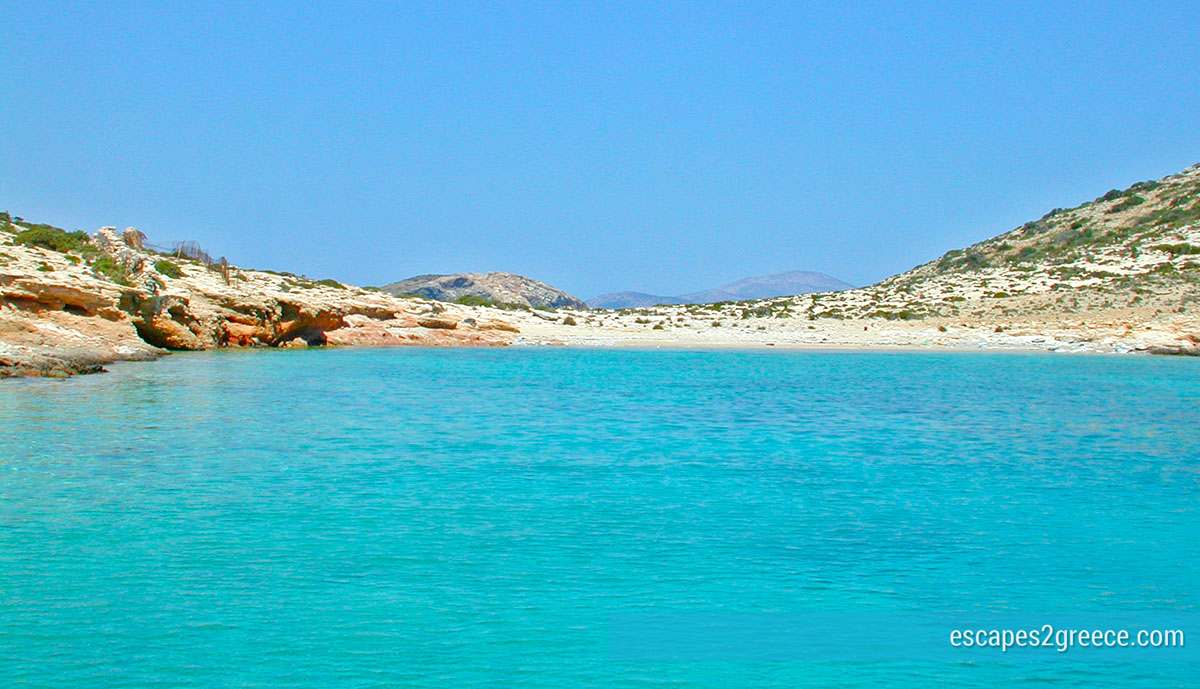 Beaches of Small Cyclades islands