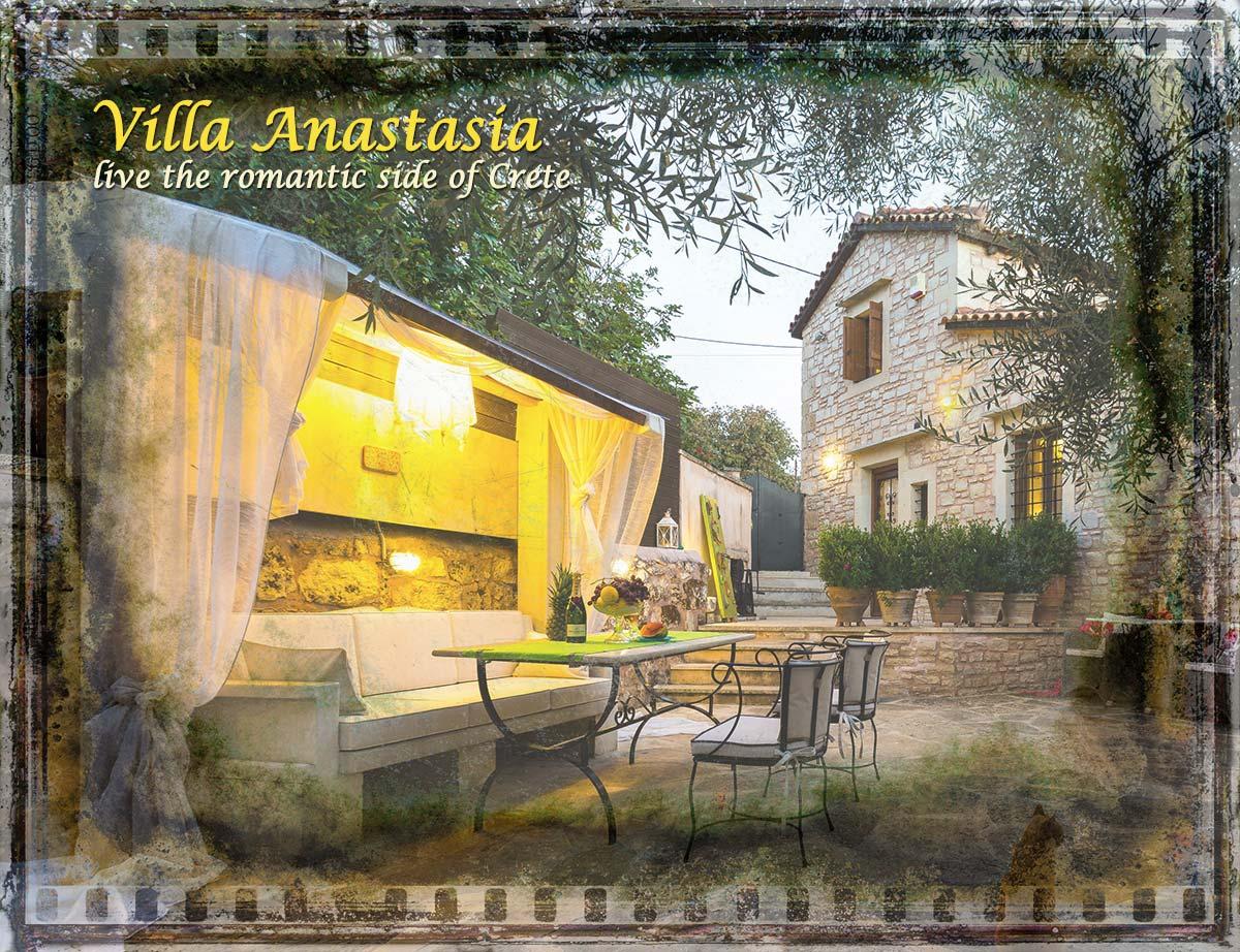 Villa Anastasia in Prines, Rethymnon, Crete