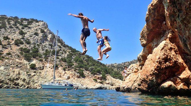 Sailing the Aegean Sea